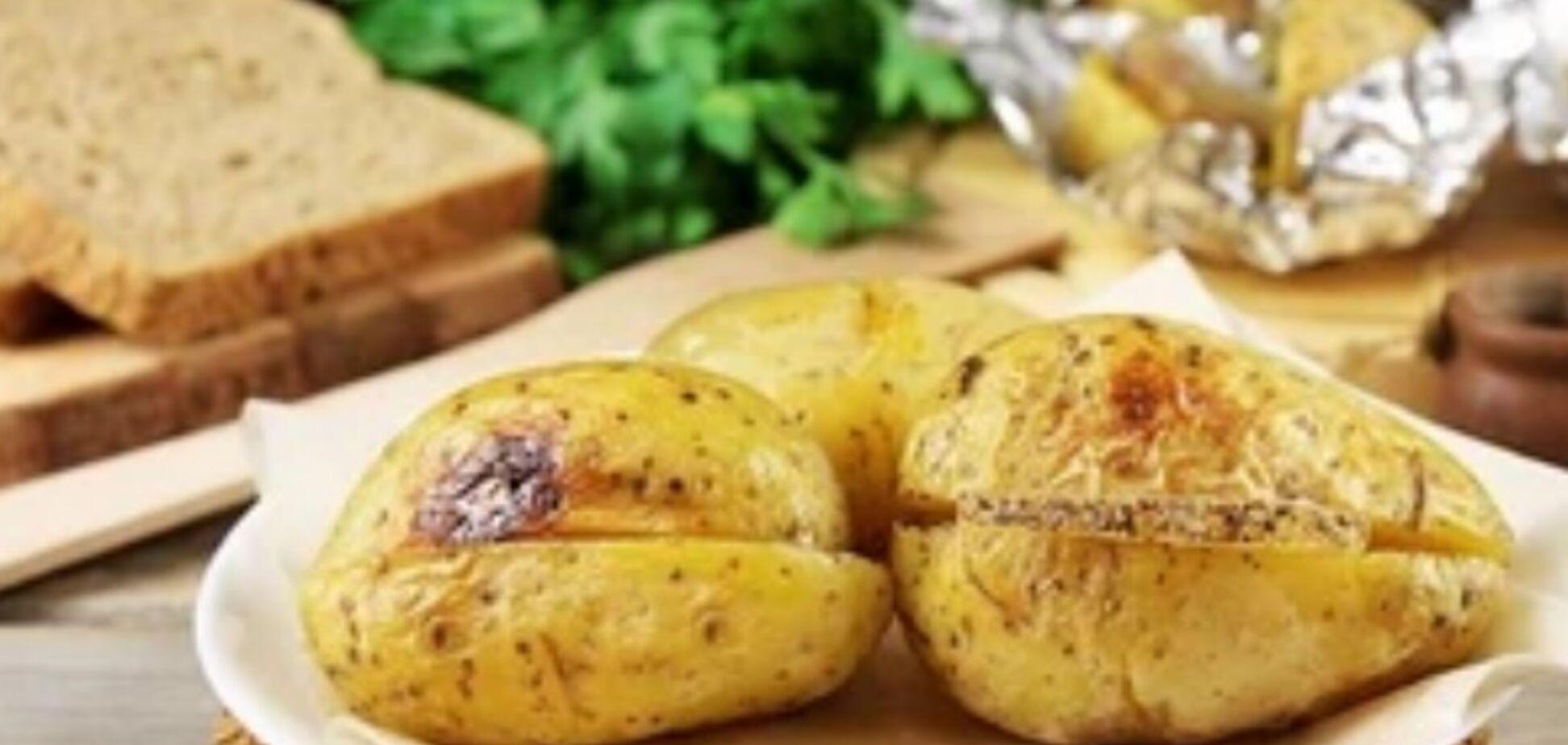 Рецепт вкуснейшей картошки с салом в духовке