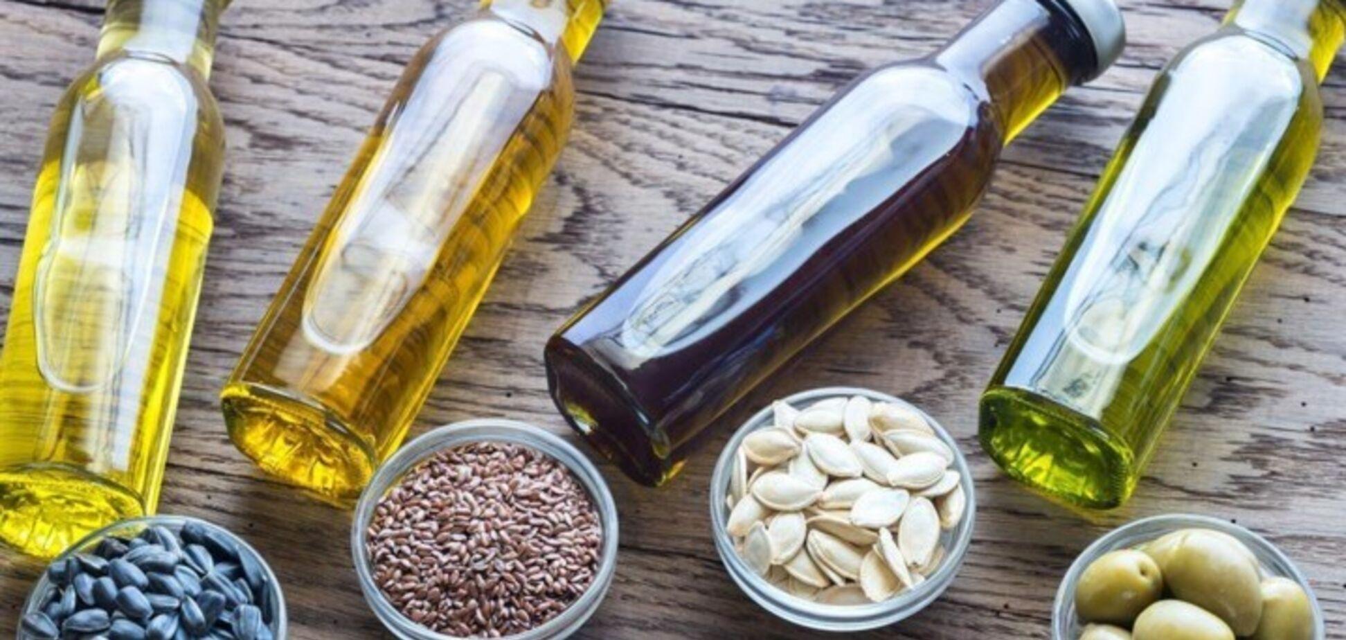 Повинні бути в раціоні: названа користь рослинних олій