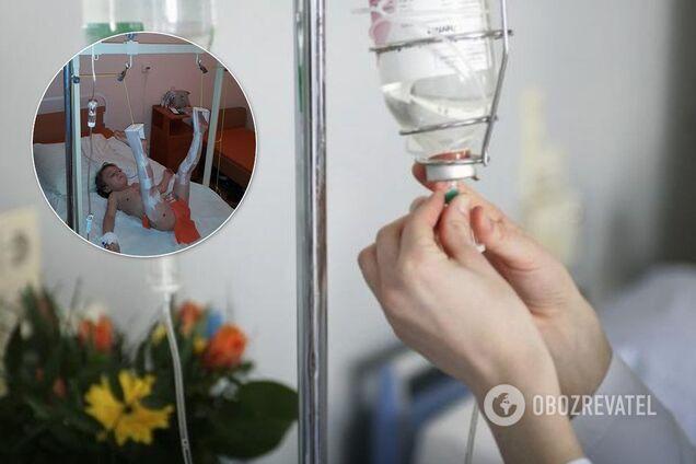 В поликлинике Киева на 4-летнего мальчика упали металлические двери
