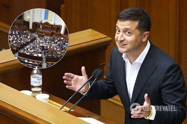 Зеленский хочет наделить Раду новыми правами