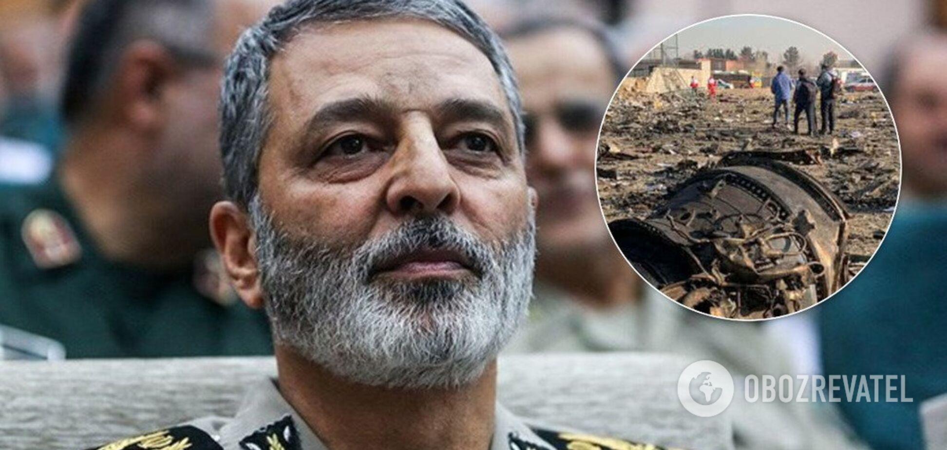'Не подорвет заслуги КСИР!' Иранский генерал сделал циничное заявление о сбитом самолете МАУ
