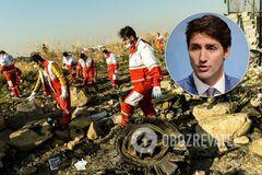 'Если бы не США с Ираном!' Премьер Канады обрушился с обвинениями из-за катастрофы самолета МАУ
