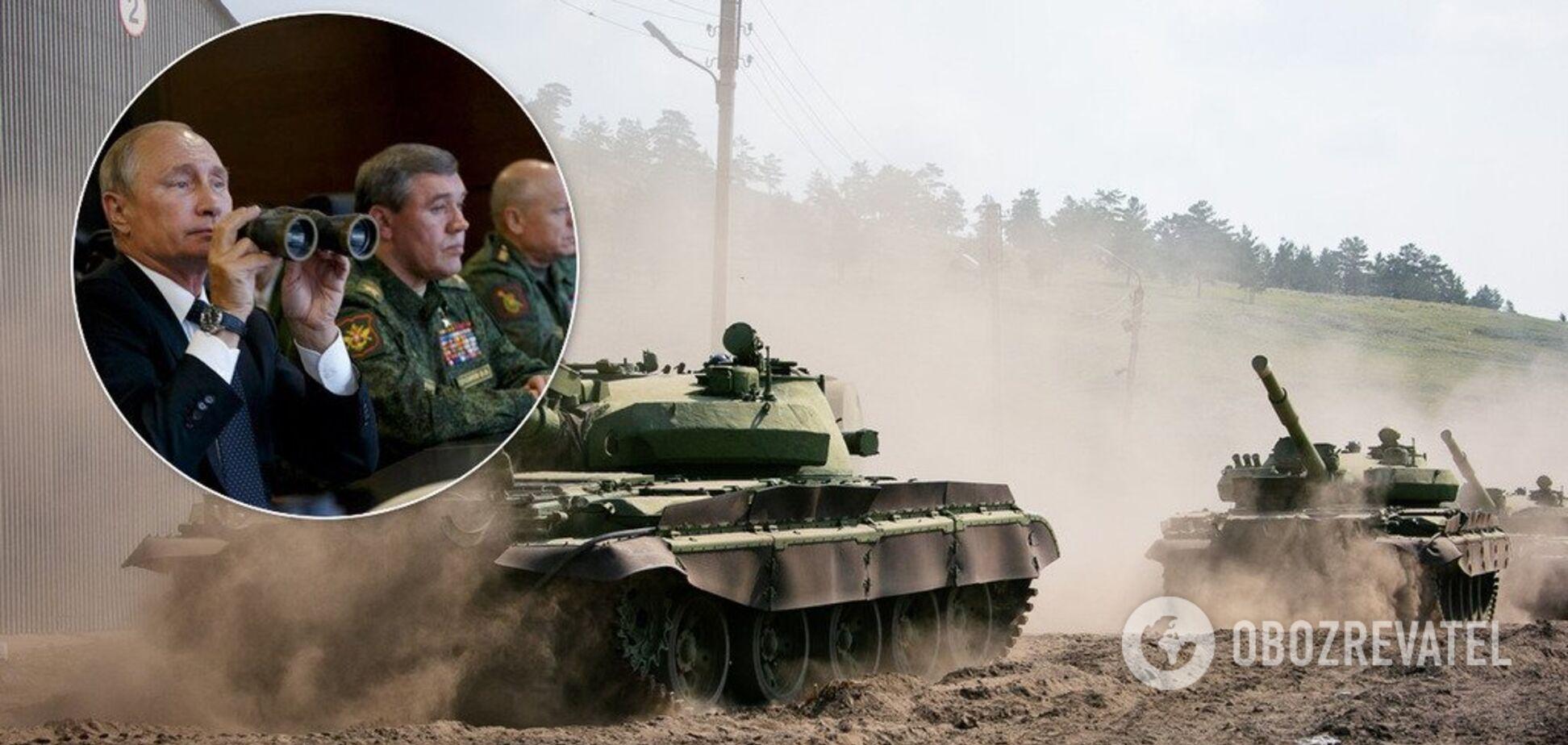 Россия перебросила на Донбасс новые танки: в штабе ООС заявили об угрозе