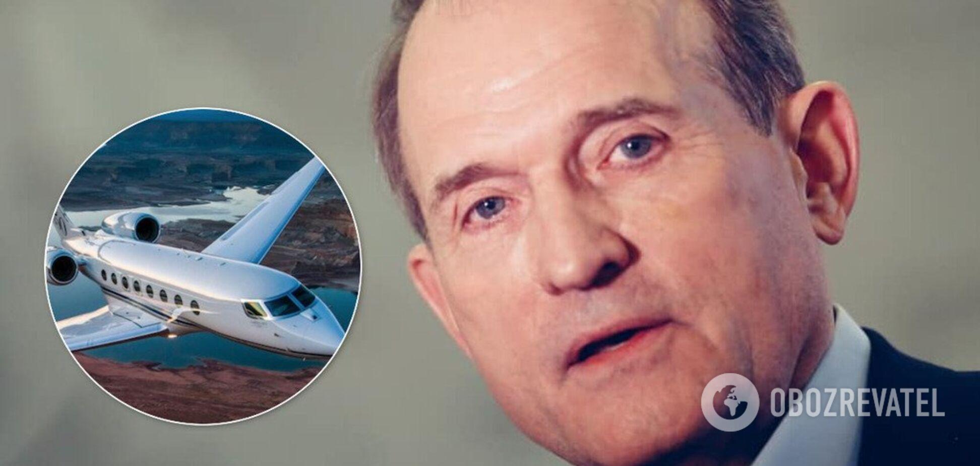 Зеленский в Омане: Медведчук сказал, кто был в скандальном самолете