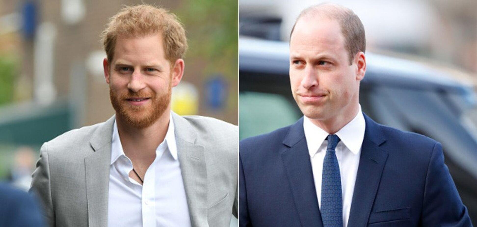 ЗМІ розповіли про нову гучну сварку принців Вільяма і Гаррі