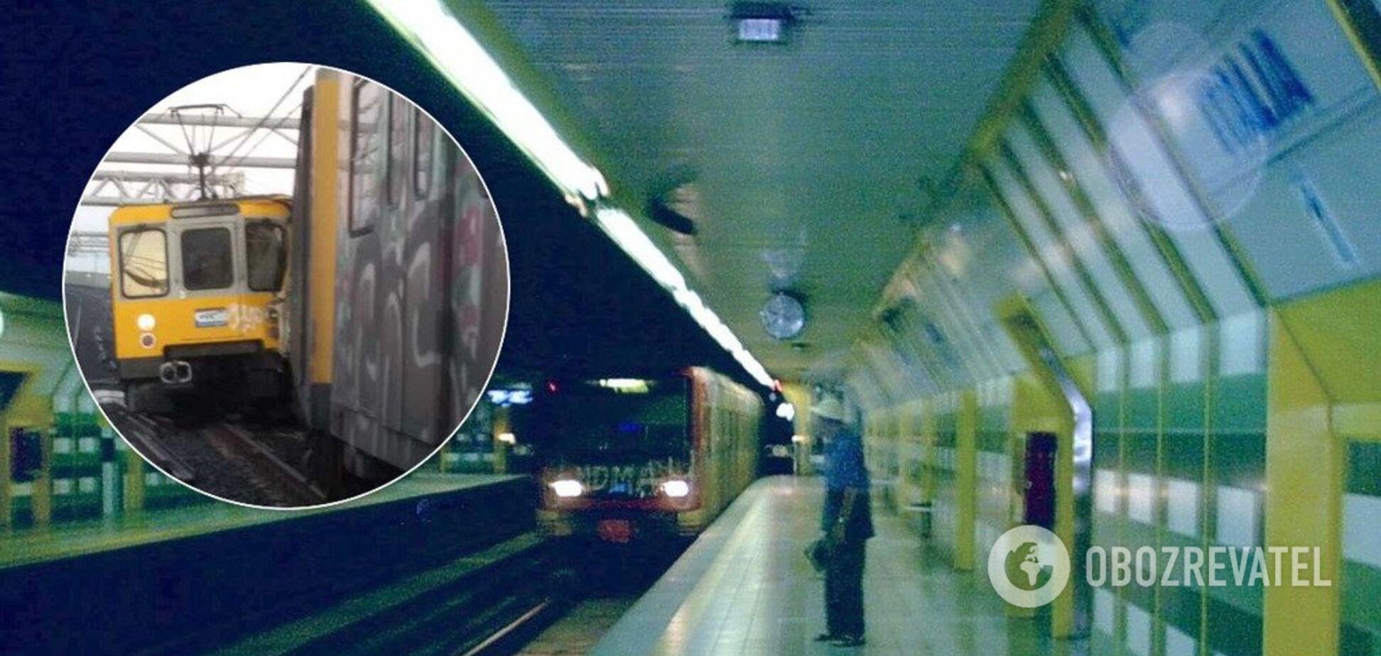 В Італії зіткнулися поїзди метро: багато постраждалих