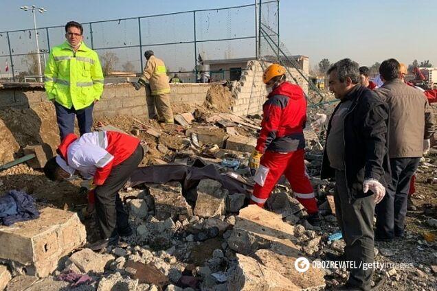В Иране сбили самолет МАУ