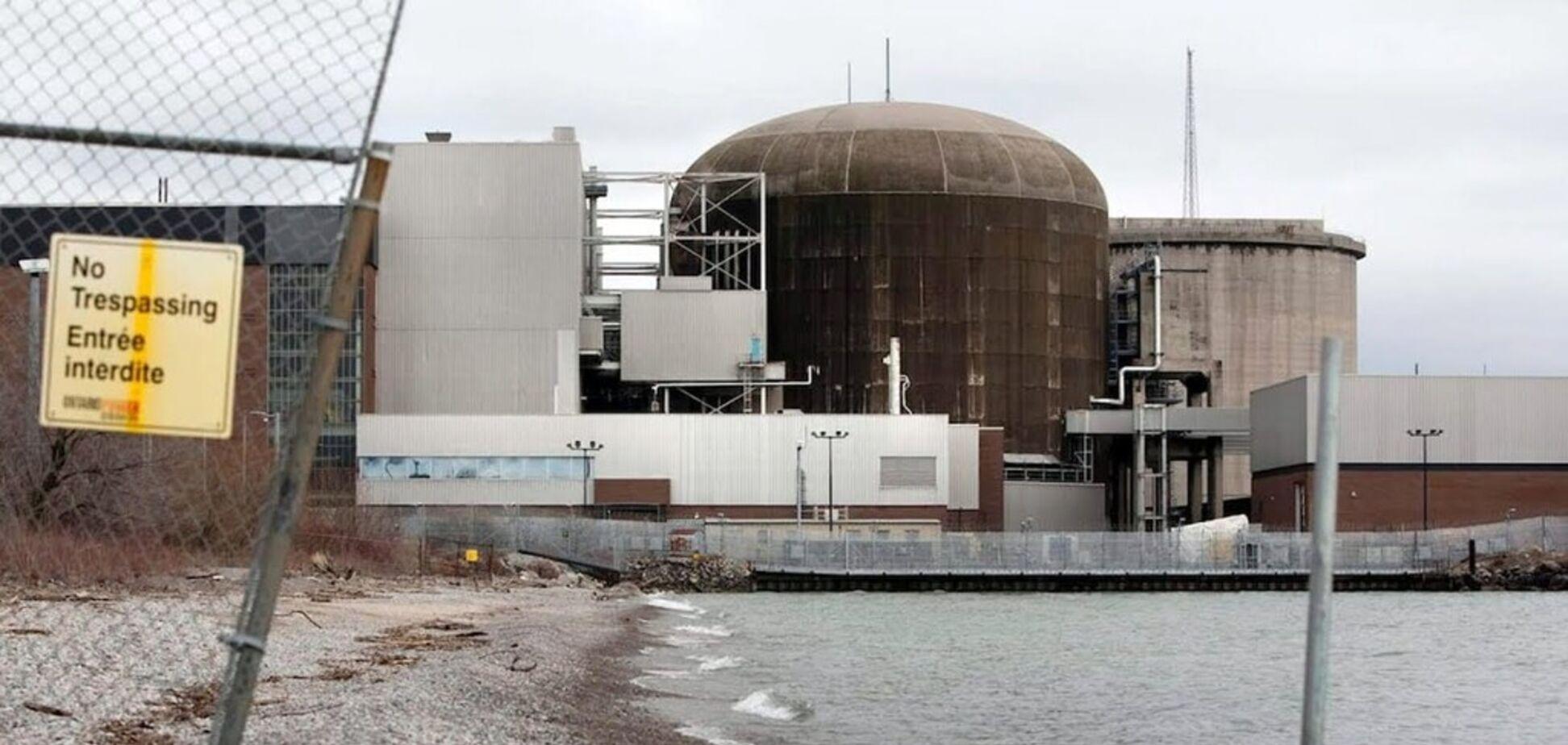 Жители Канады получили сообщение об аварии на АЭС