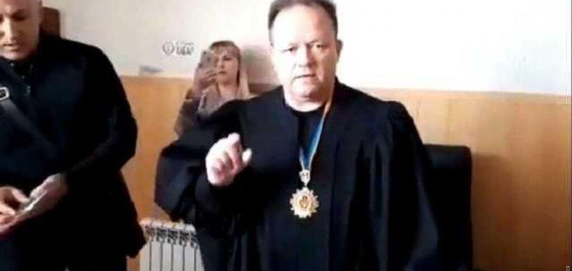 Вища рада правосуддя покарала скандального суддю з Одеси