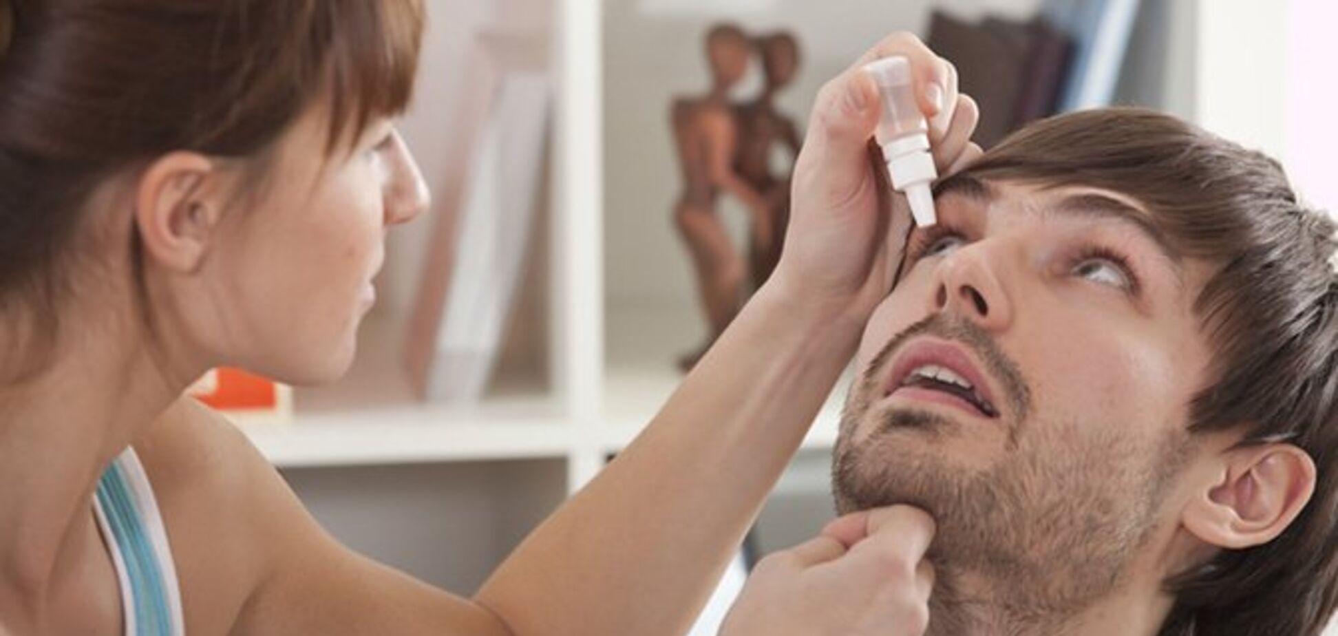 Травма глаза: как оказать первую помощь