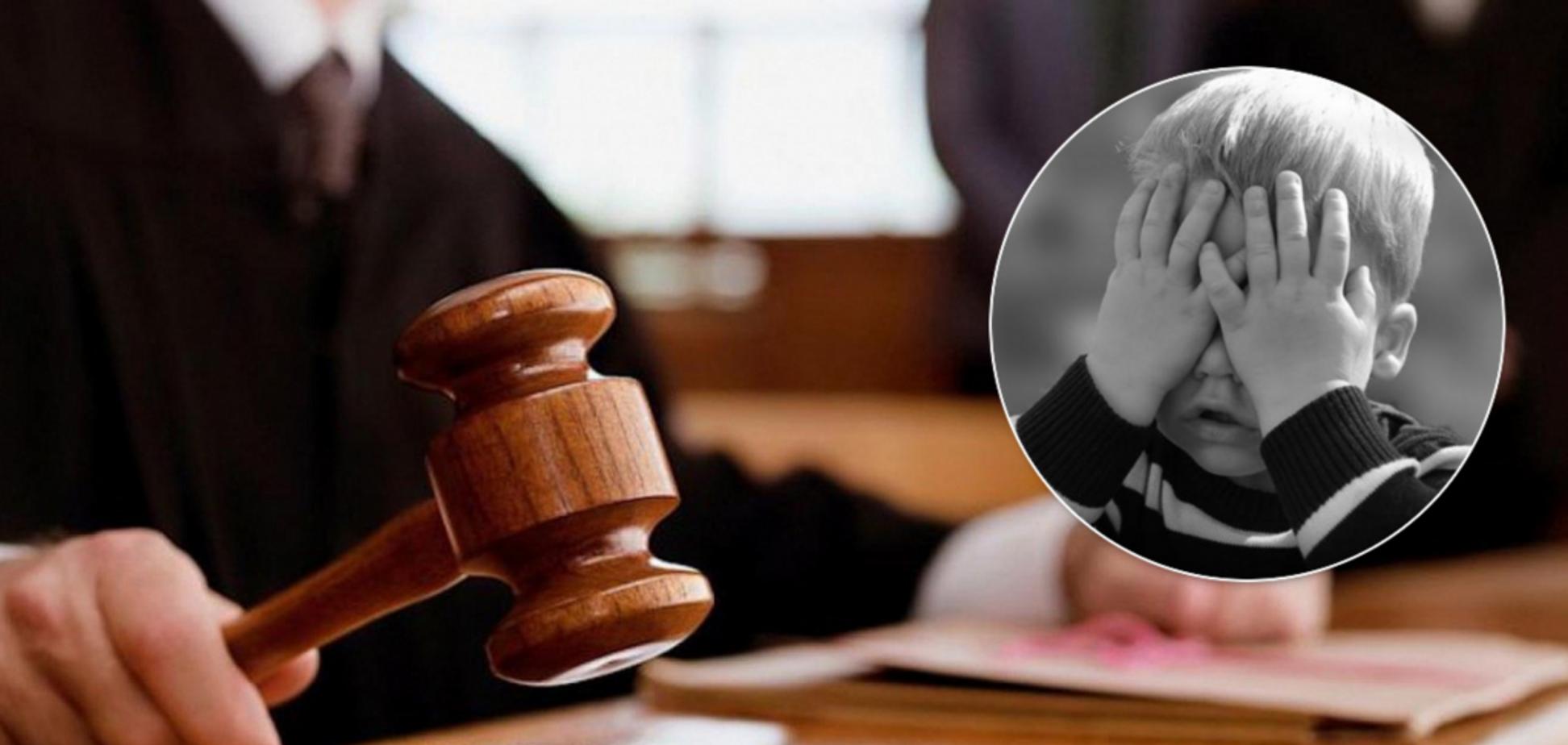 В Киеве суд отпустил насильника, убившего ребенка