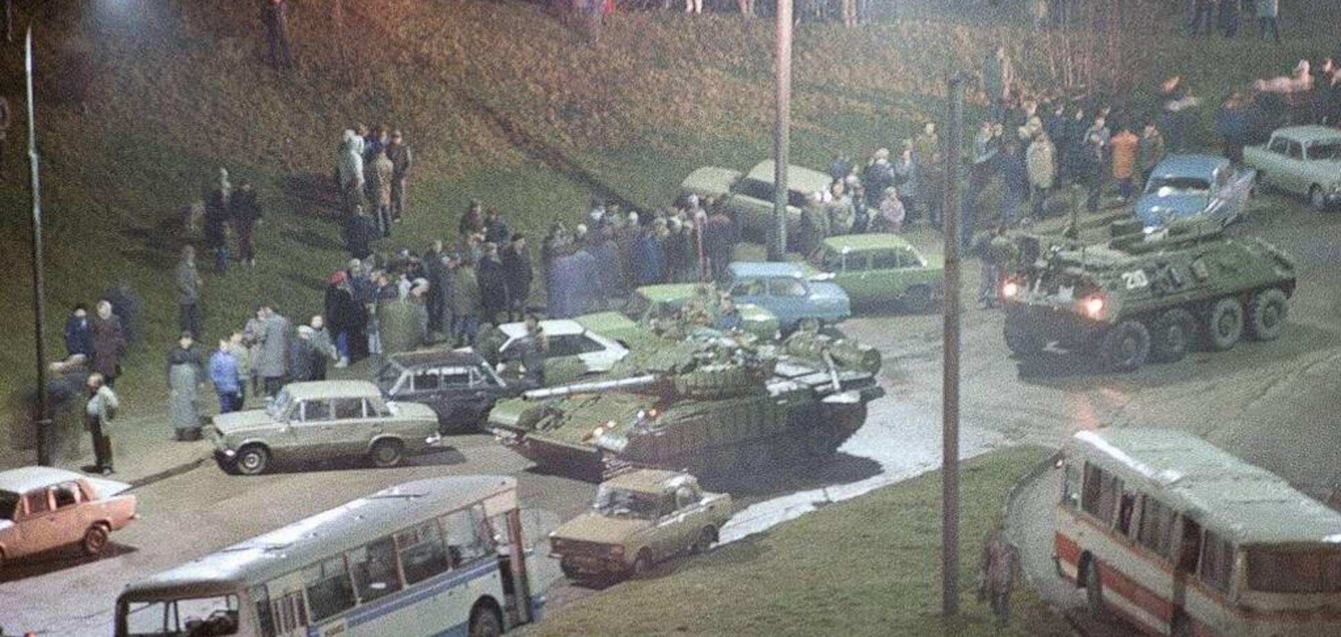 Свободу Литви відстоювали також і українці