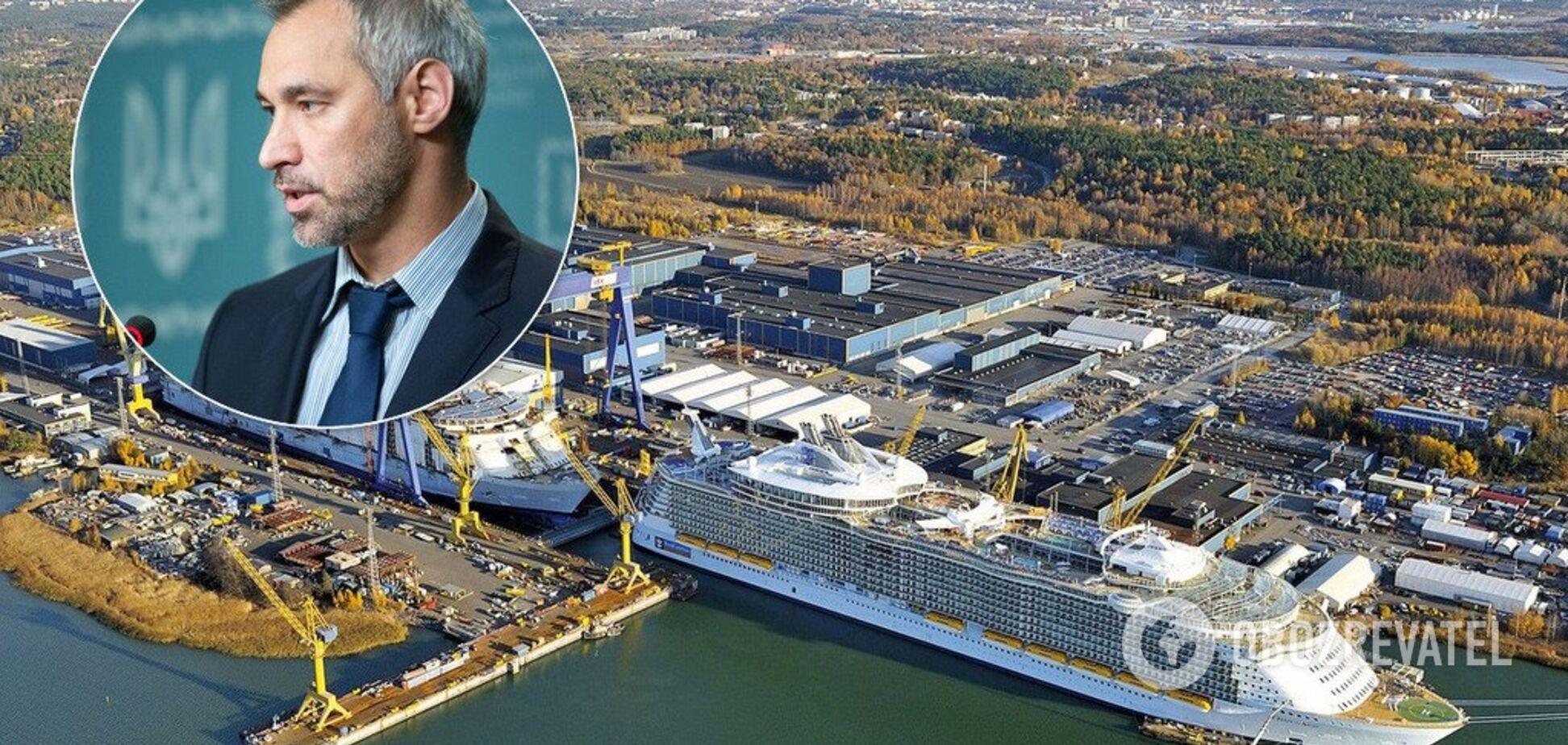 'Нож в спину николаевских корабелов': инвестор завода 'Океан' выдвинул обвинение генпрокуратуре