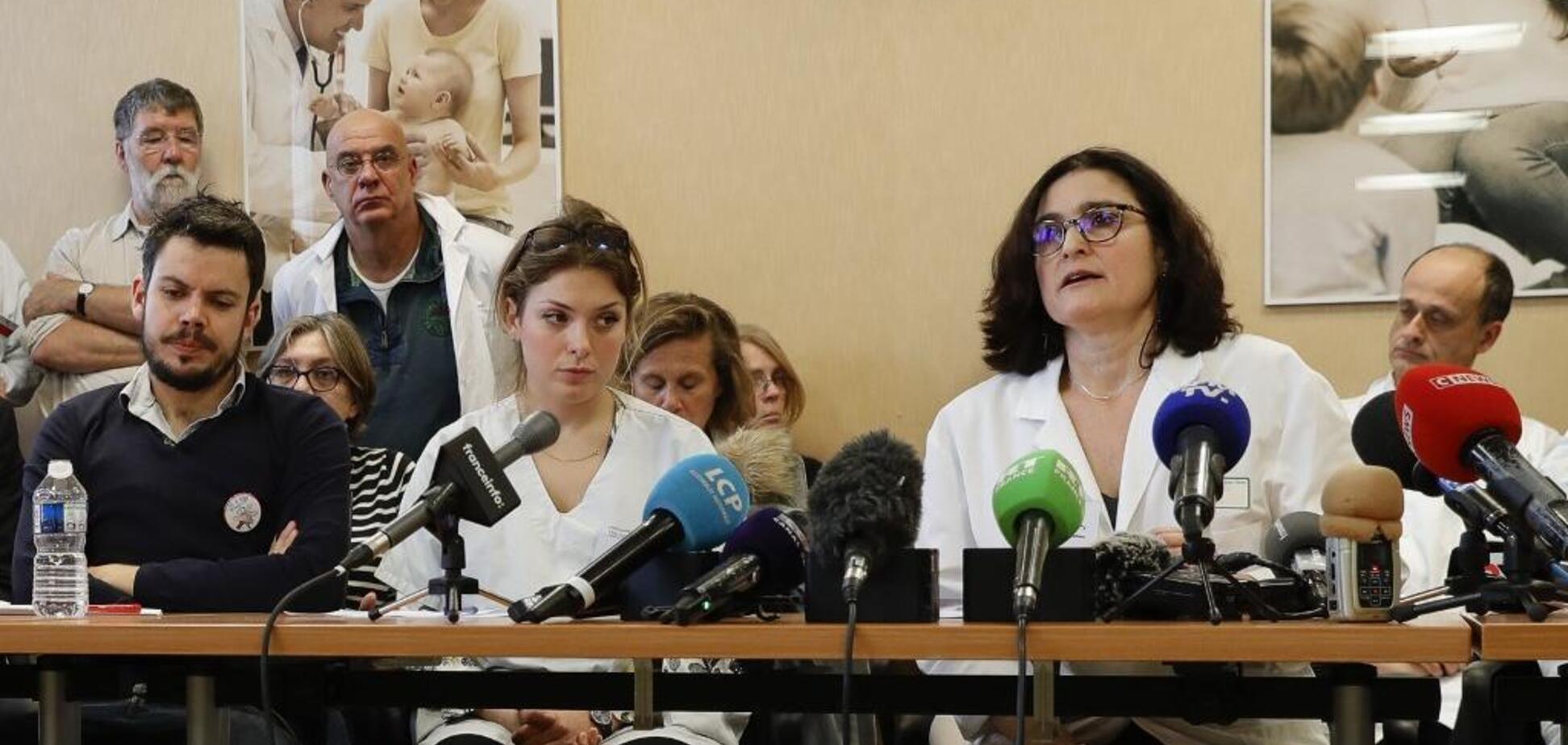 Протести і страйки: лікарі Франції незадоволені фінансуванням медицини