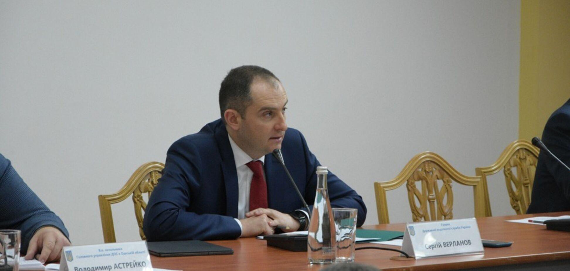 Верланов на Одещині дав старт масштабній антикорупційній перевірці податкової: деталі