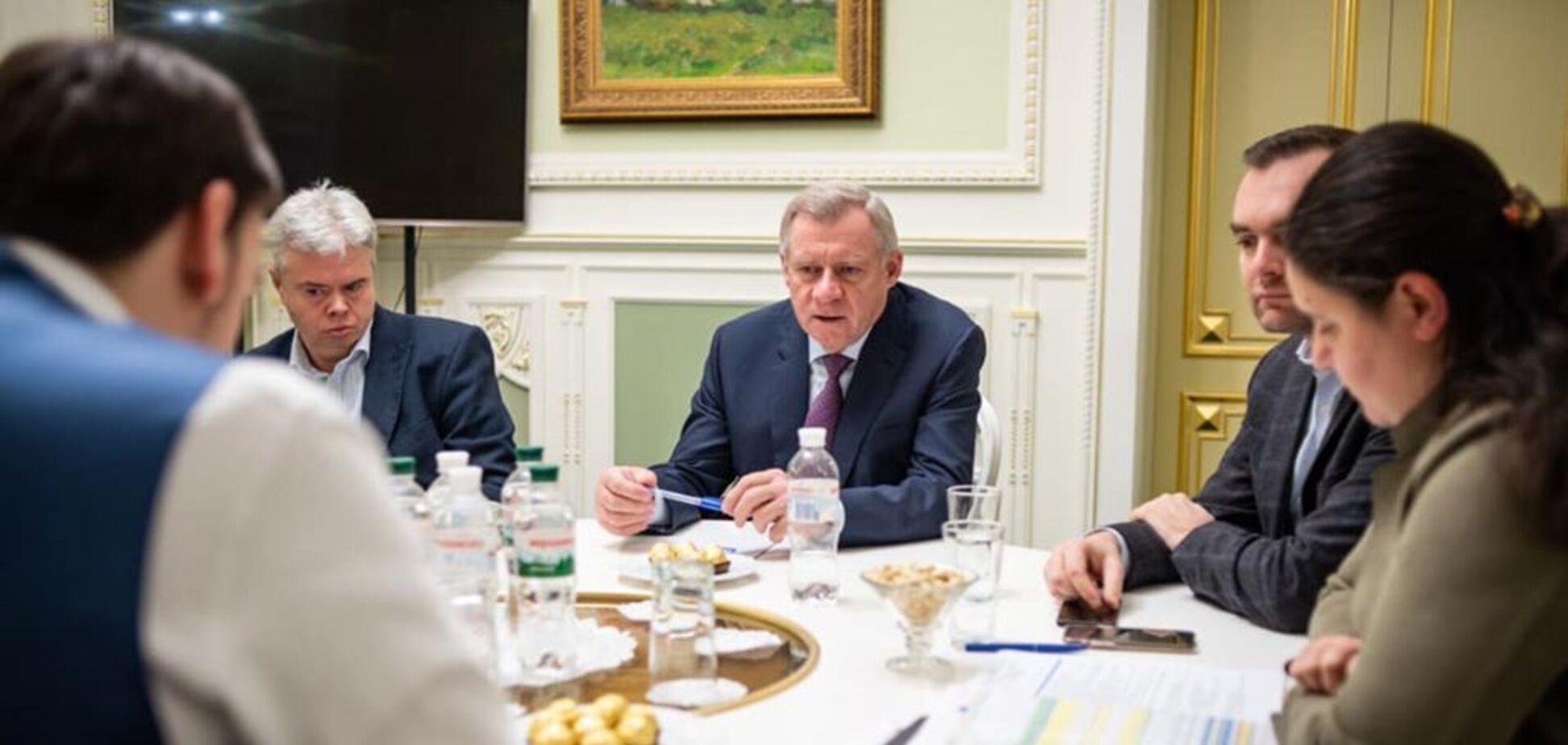 Встреча, на которой, возможно, был записан разговор