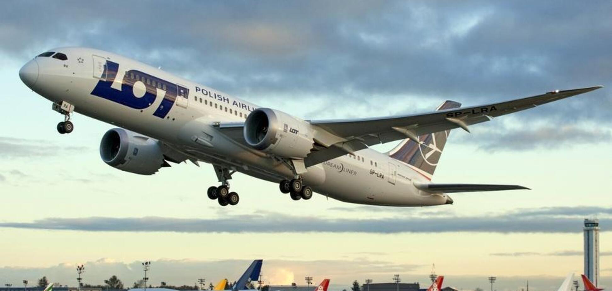 У Польщі трапилася НПіз літаком до Москви