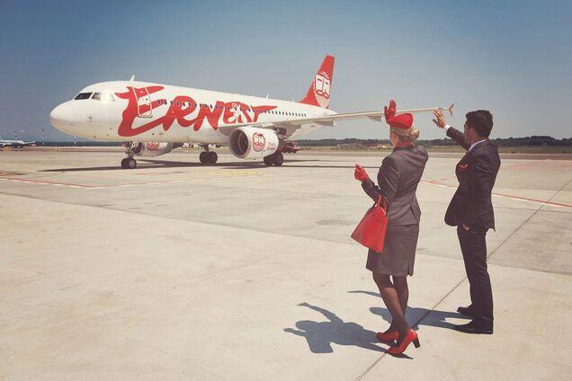 Ernest Airlines остановила полеты из Украины