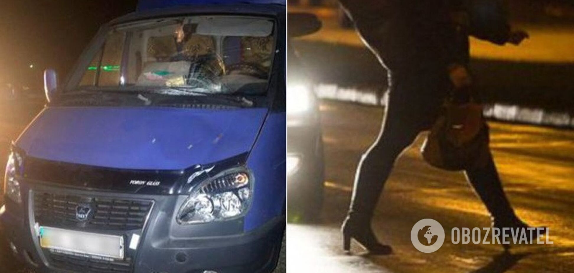 На Днепропетровщине девушка погибла под колесами грузовика. Фото 18+
