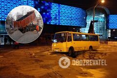 Аварию возле подтопленного Ocean Plaza ликвидировали: фото и подробности
