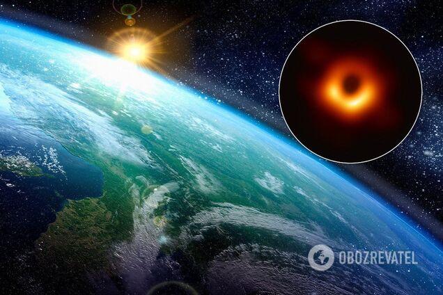 """Черная дыра М87 """"выстрелила"""" по Земле"""
