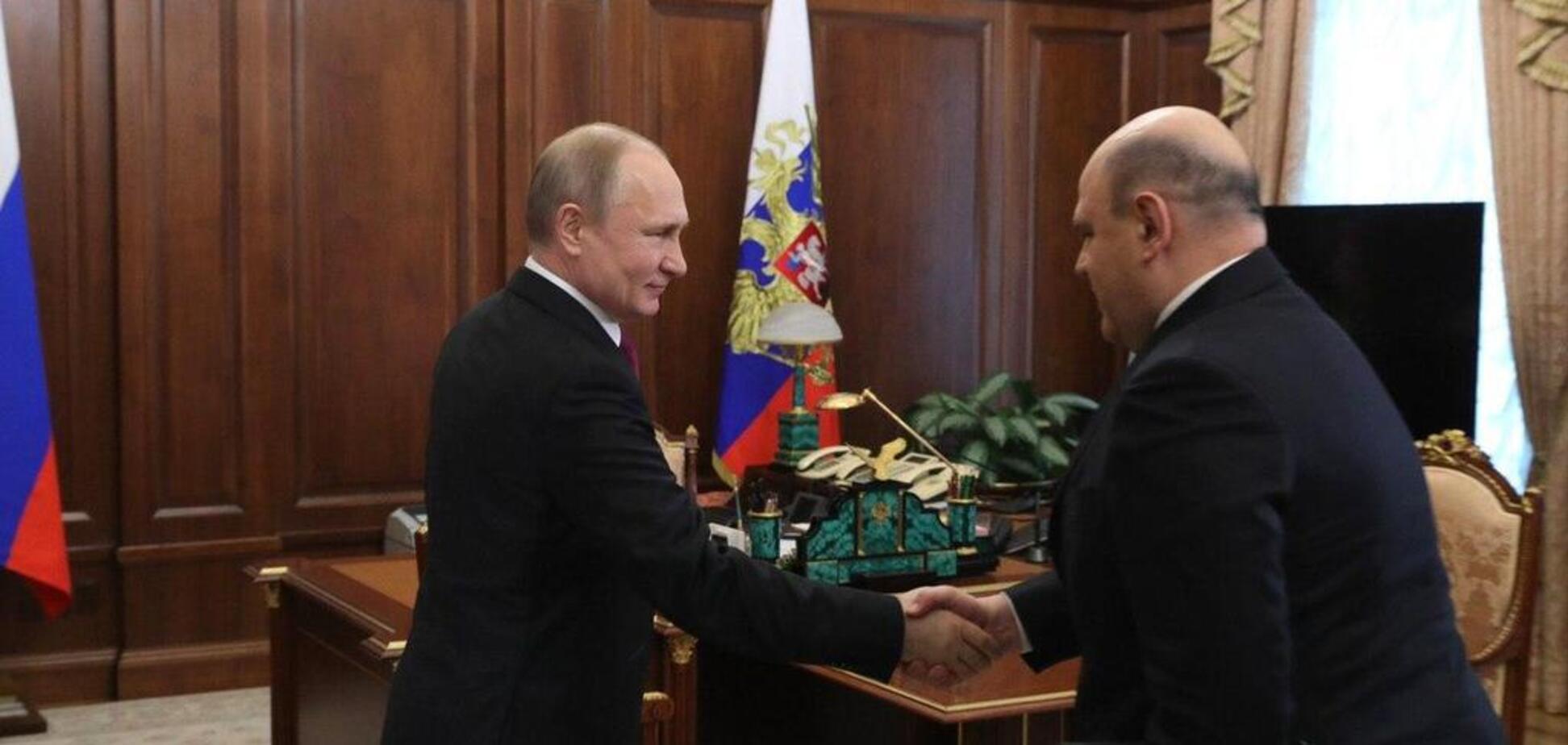 Путін обрав заміну Медведєву: названо ім'я нового прем'єра РФ