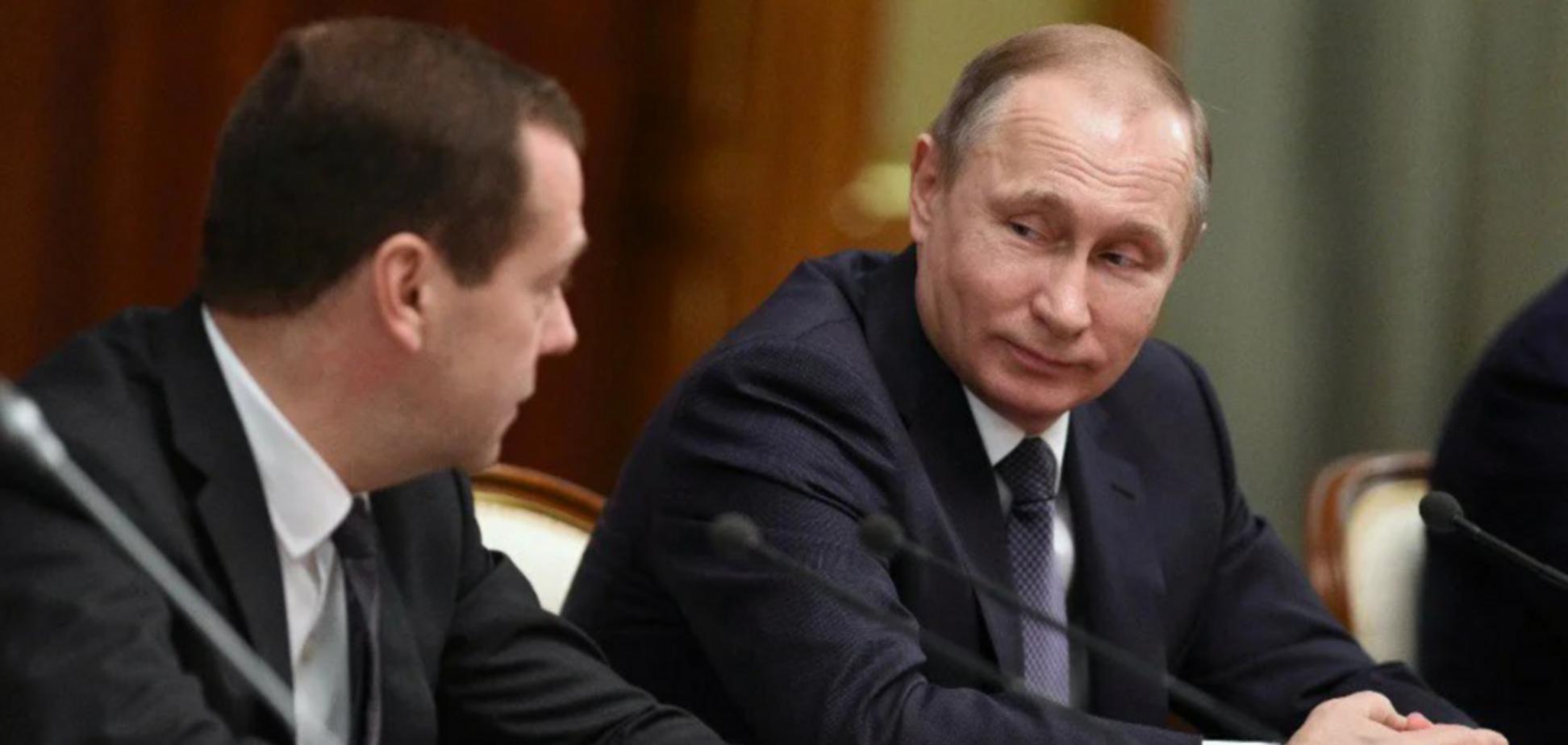 Сеть отреагировала на внезапную отставку Медведева