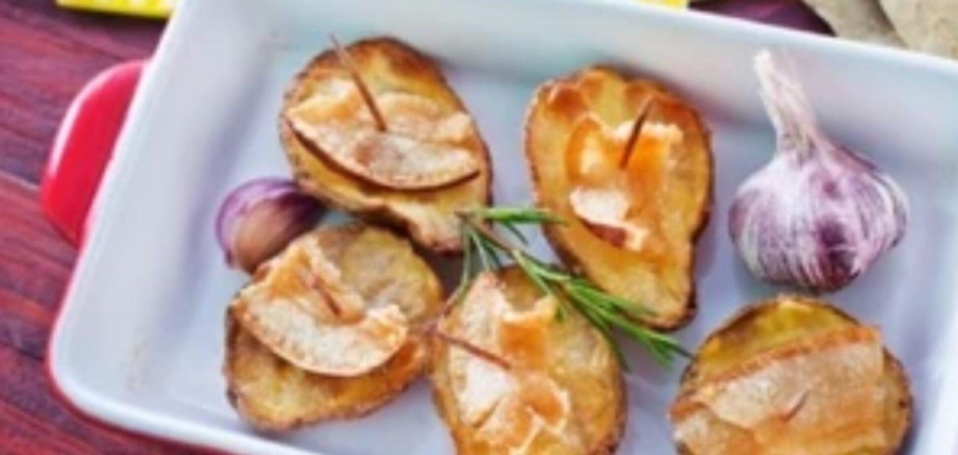 Рецепт дуже смачної печеної картоплі