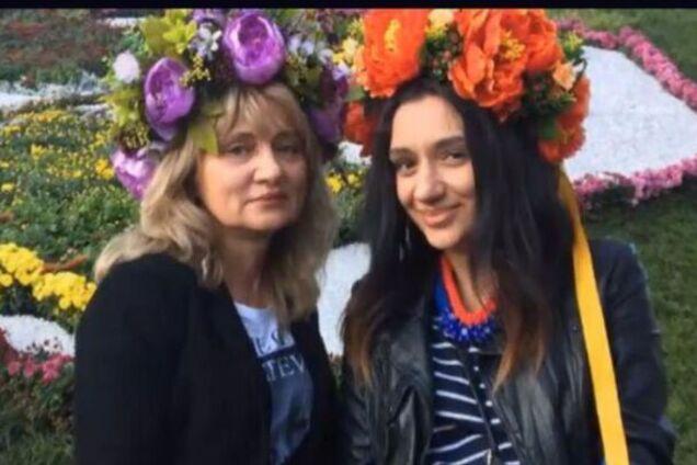 Ольга Кобьюк и Алена Арам