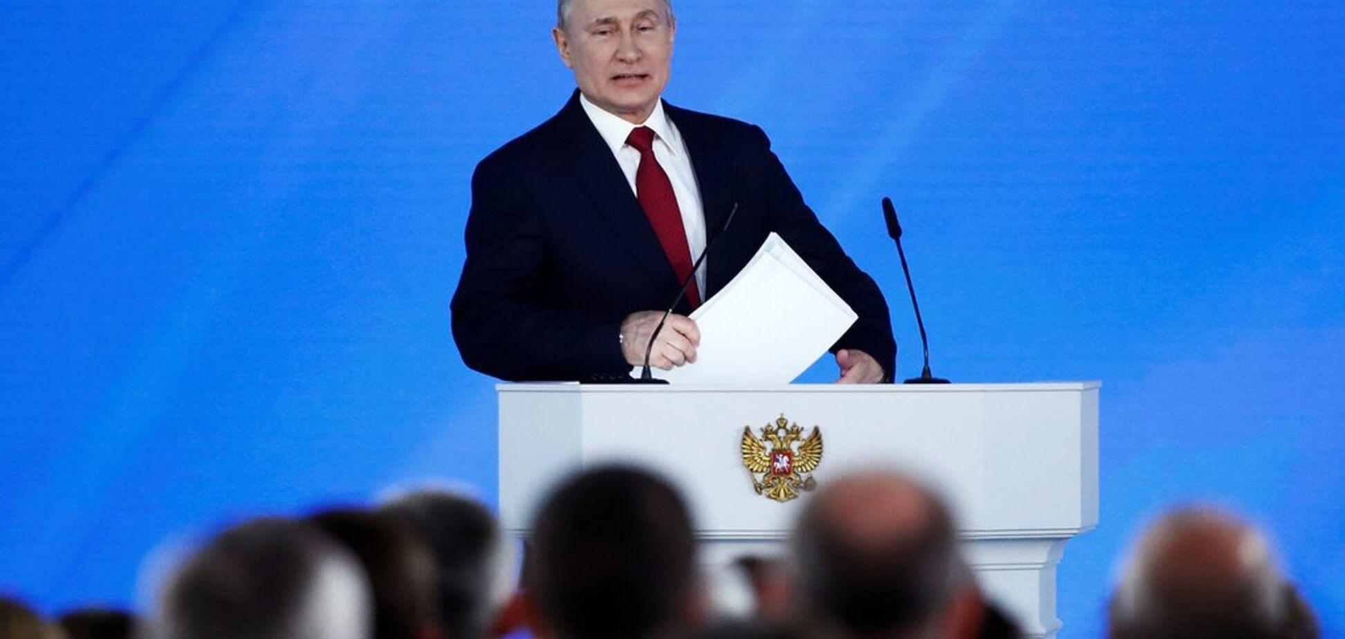 Послание Путина: усиление узурпации власти и подготовка к войне