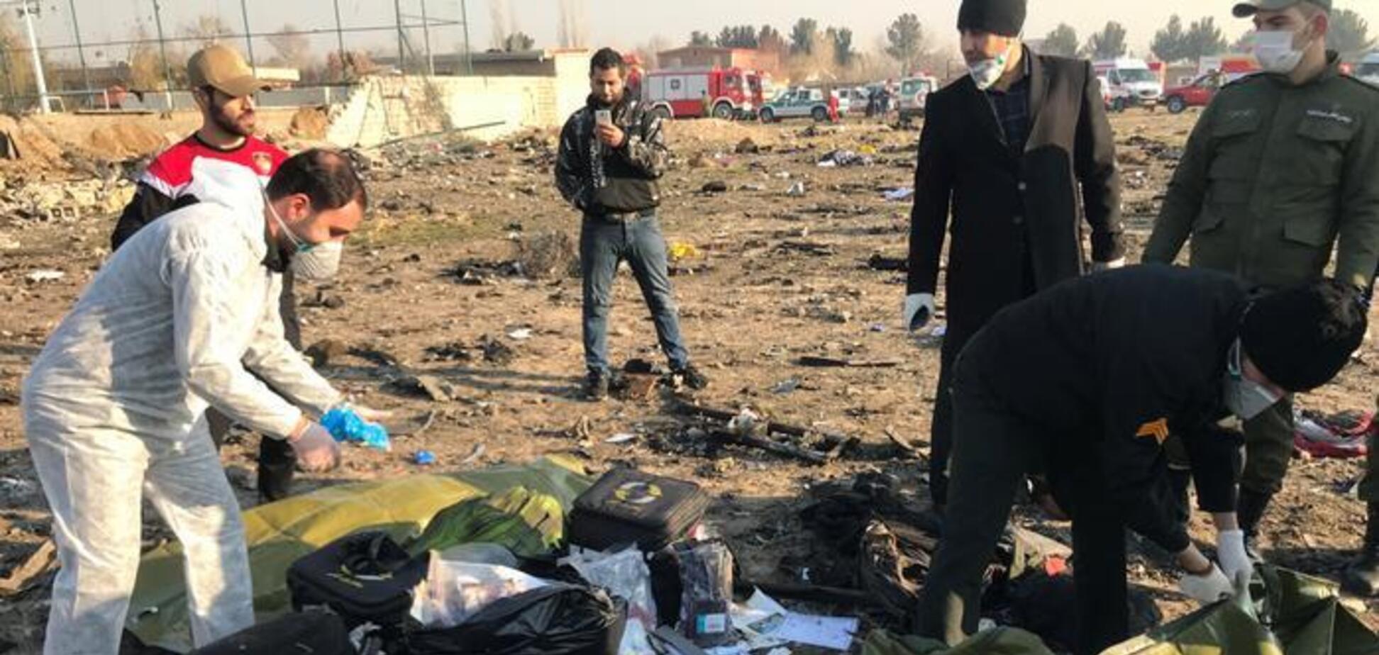 Крушение Boeing: в Иране завершена идентификация украинцев