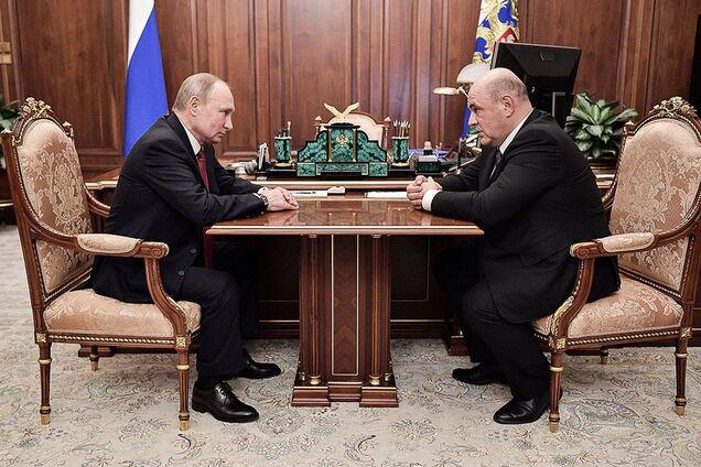 Владимир Путин и Михаил Мишустин