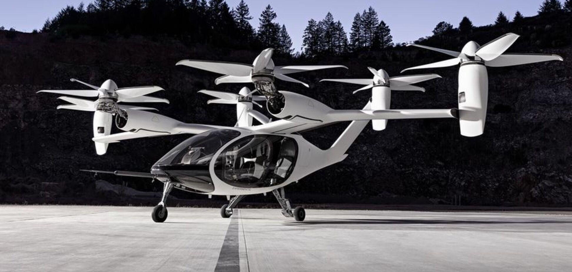 Toyota займется созданием уникальных электрических аэротакси