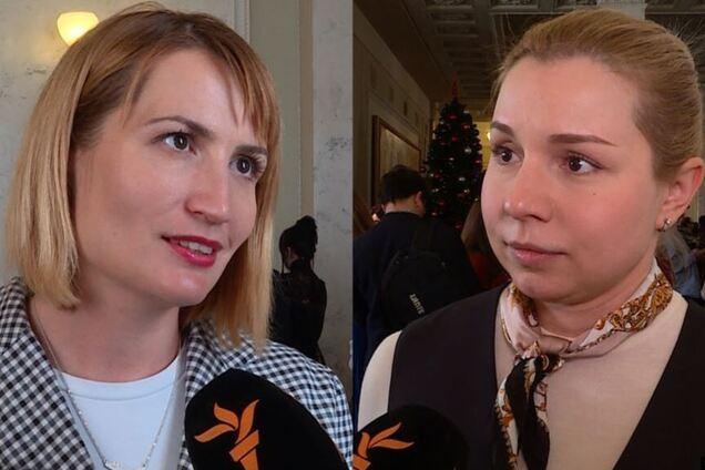 Ольга Стефанишина и Анастасия Красносельская