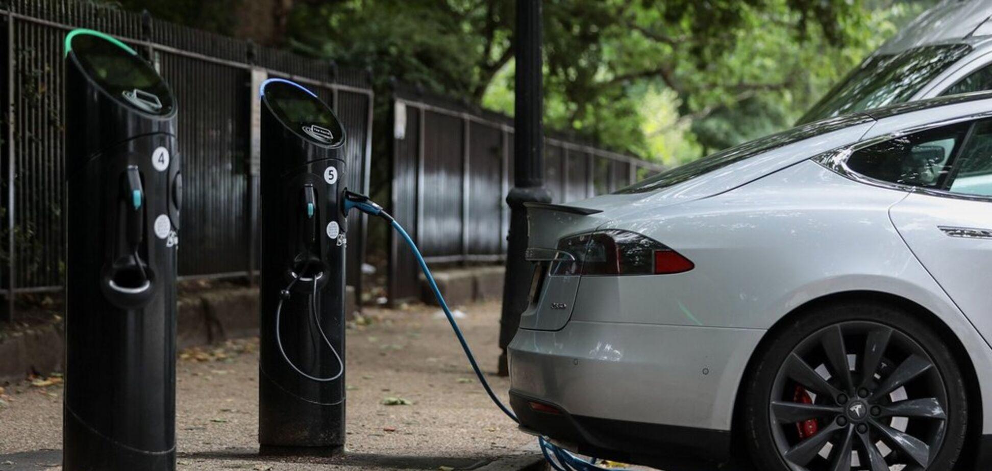 В Украине зафиксировали стремительный рост количества зарядок для электрокаров