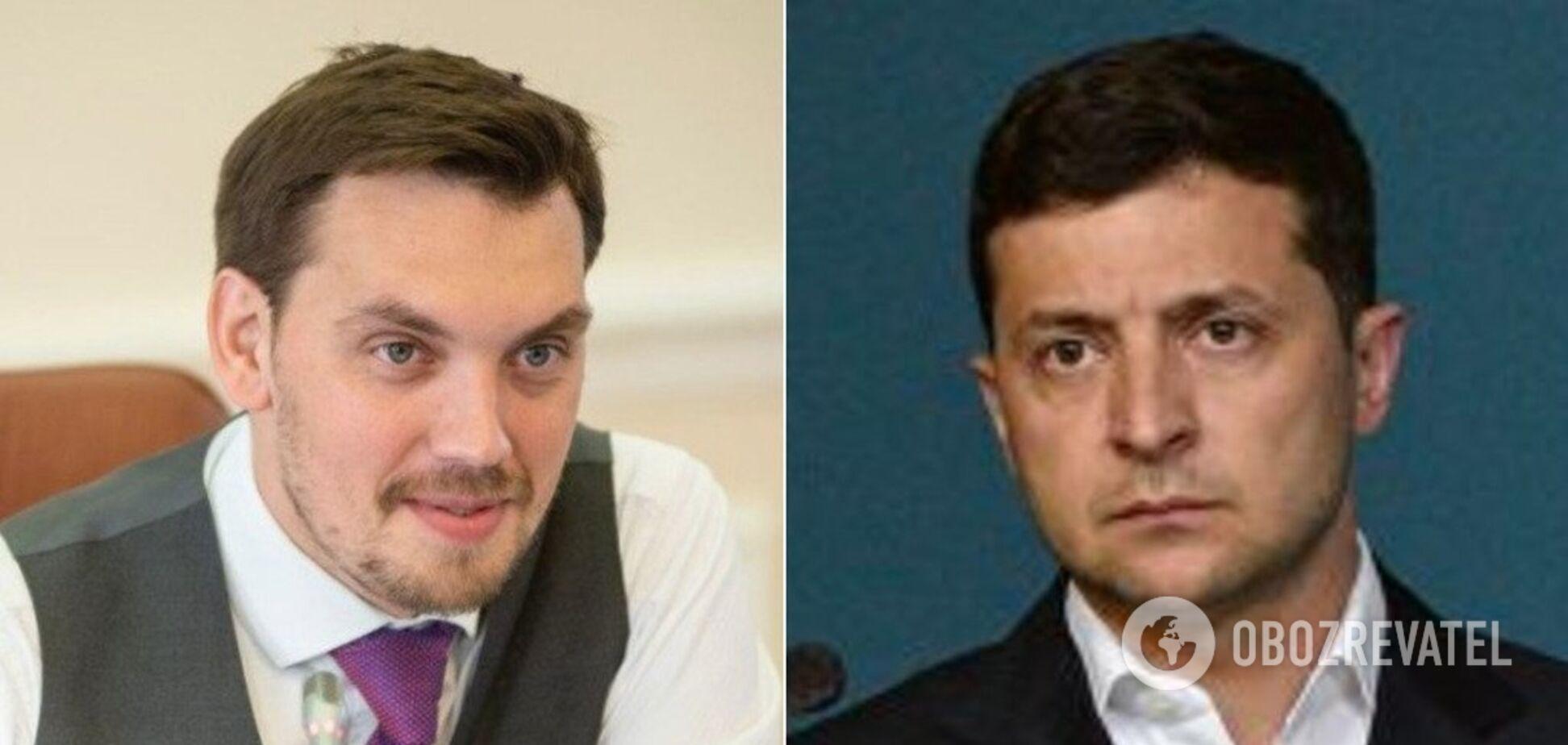 Зеленський 'один на один' розібрався з Гончаруком: Офіс президента опублікував відео