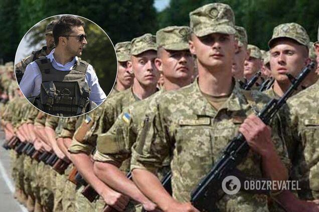 Владимир Зеленский подписал указ о призыве в армию в 2020 году