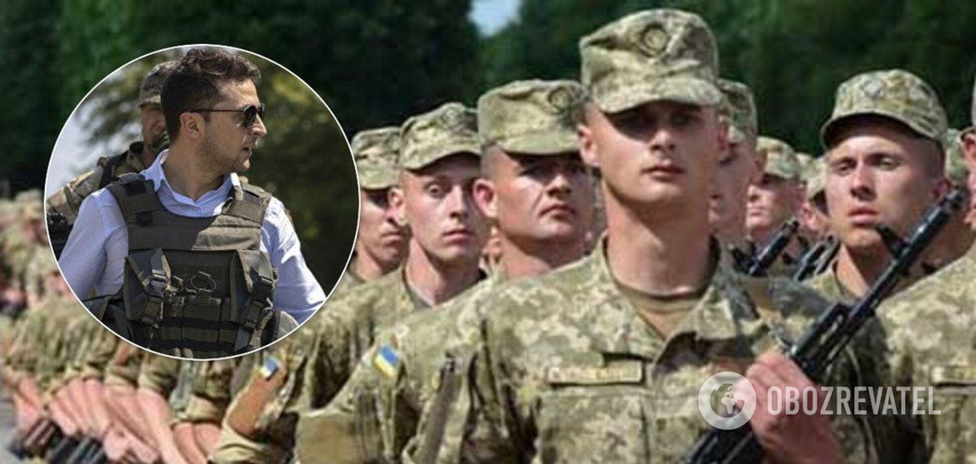 Зеленский изменил призывной возраст в Украине: кого заберут в армию в 2020-м