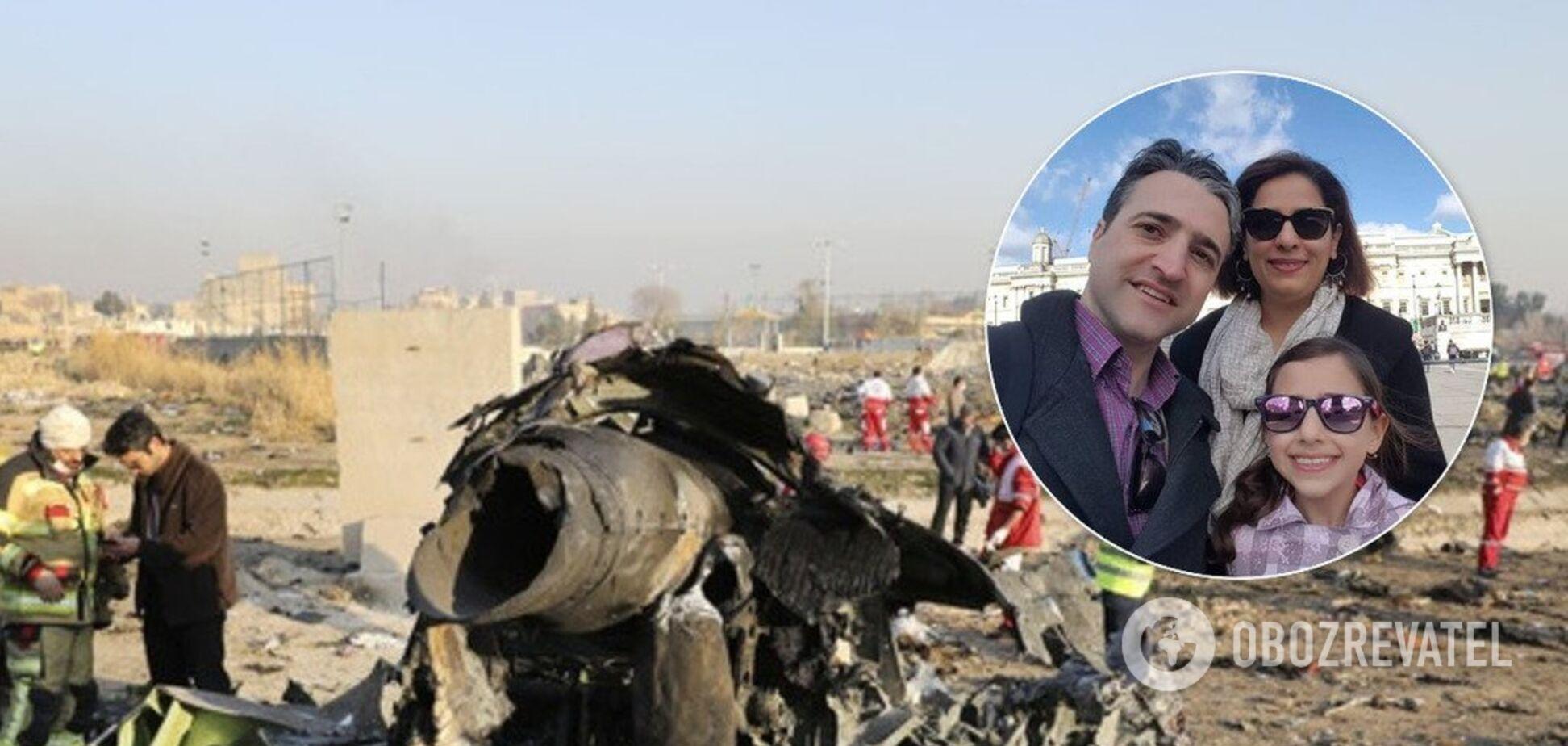 'Не можу їх повернути!' Канадець зворушив історією про рідних, які загинули в катастрофі літака МАУ