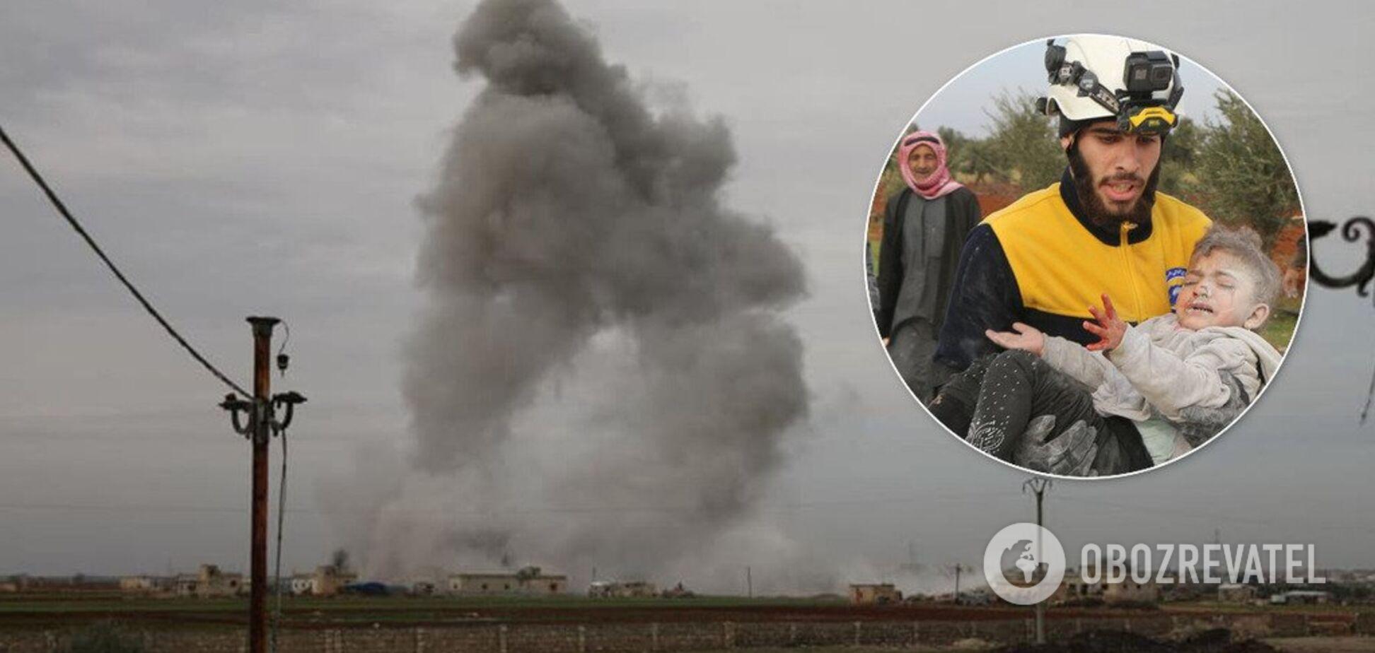 По мирних містах Сирії завдали ракетних ударів сили Асада й Путіна: загинули діти. Фото й відео 18+