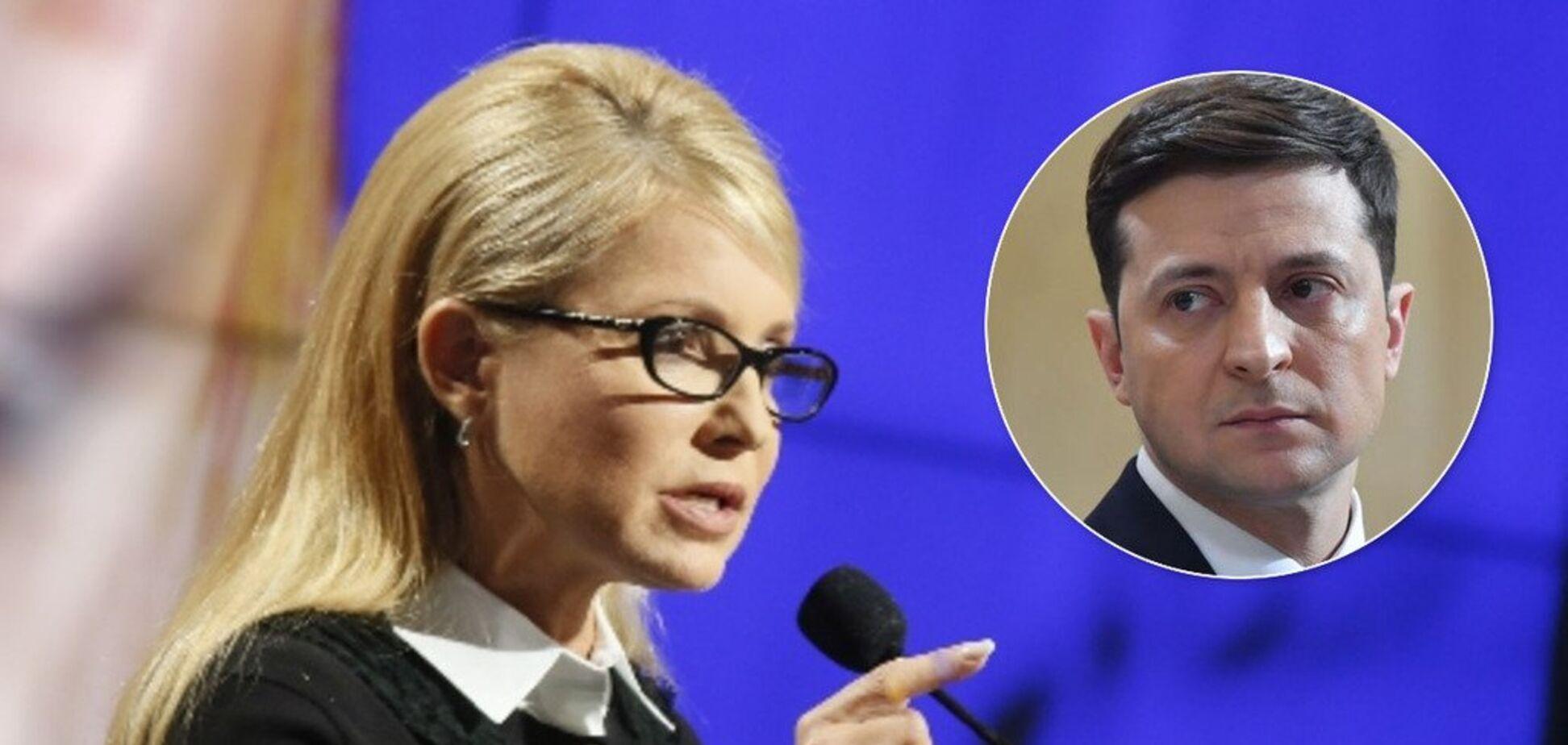 'Політичний склероз': як Тимошенко підставляється з критикою нової влади