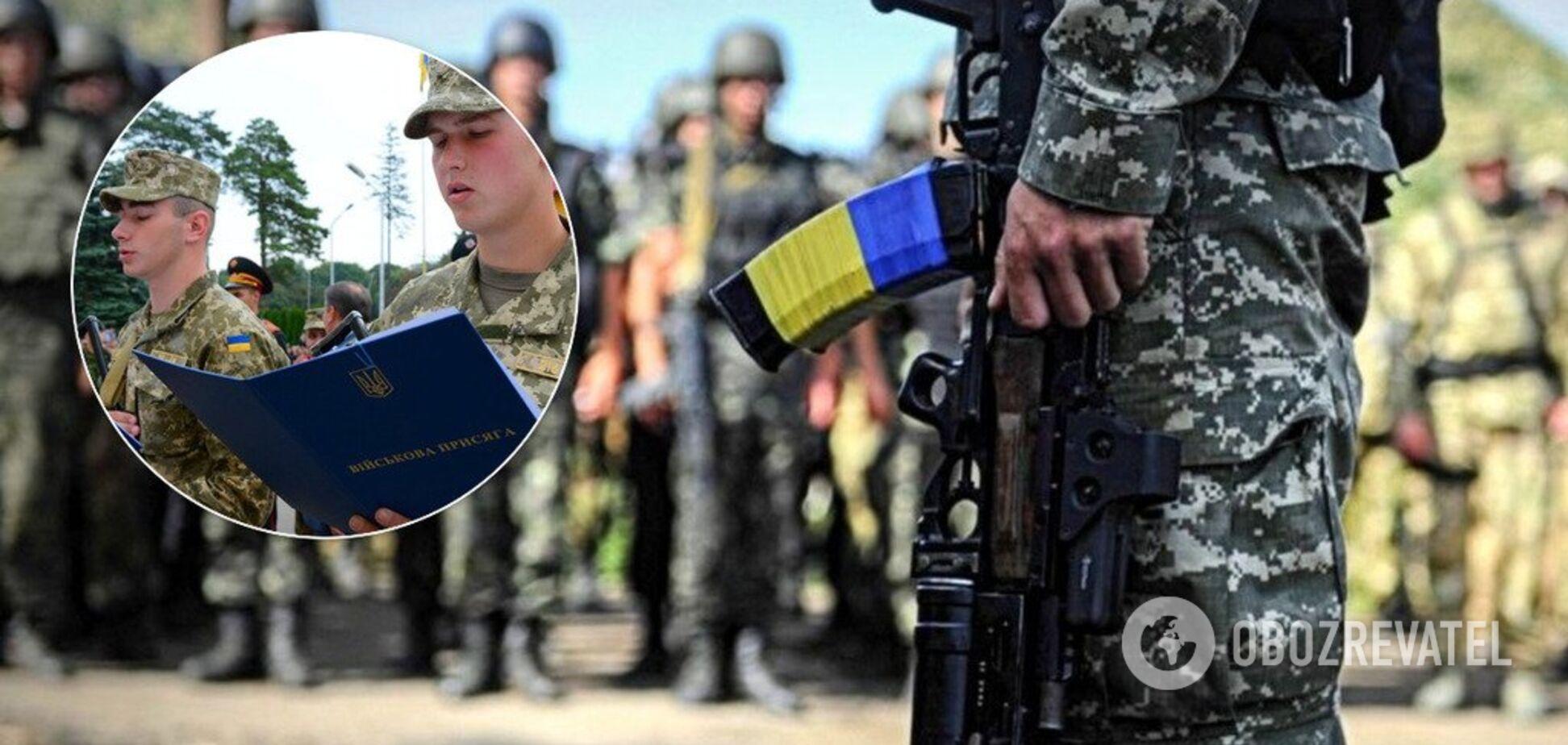 В армію забиратимуть з 18 років: що треба знати про призов в Україні