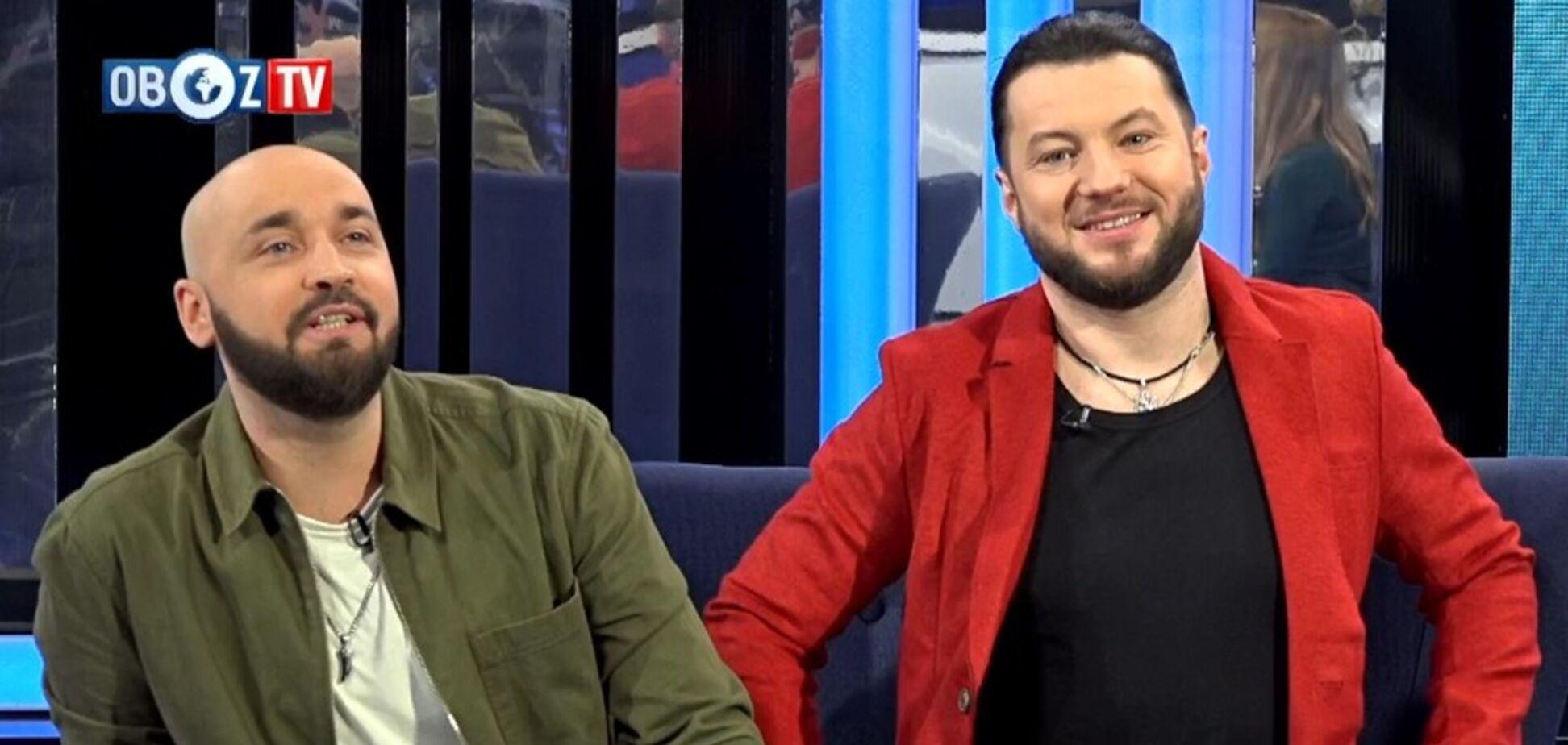 Группа 'АВИАТОР' стали гостями инфо-панк шоу 'Бурчук Live'