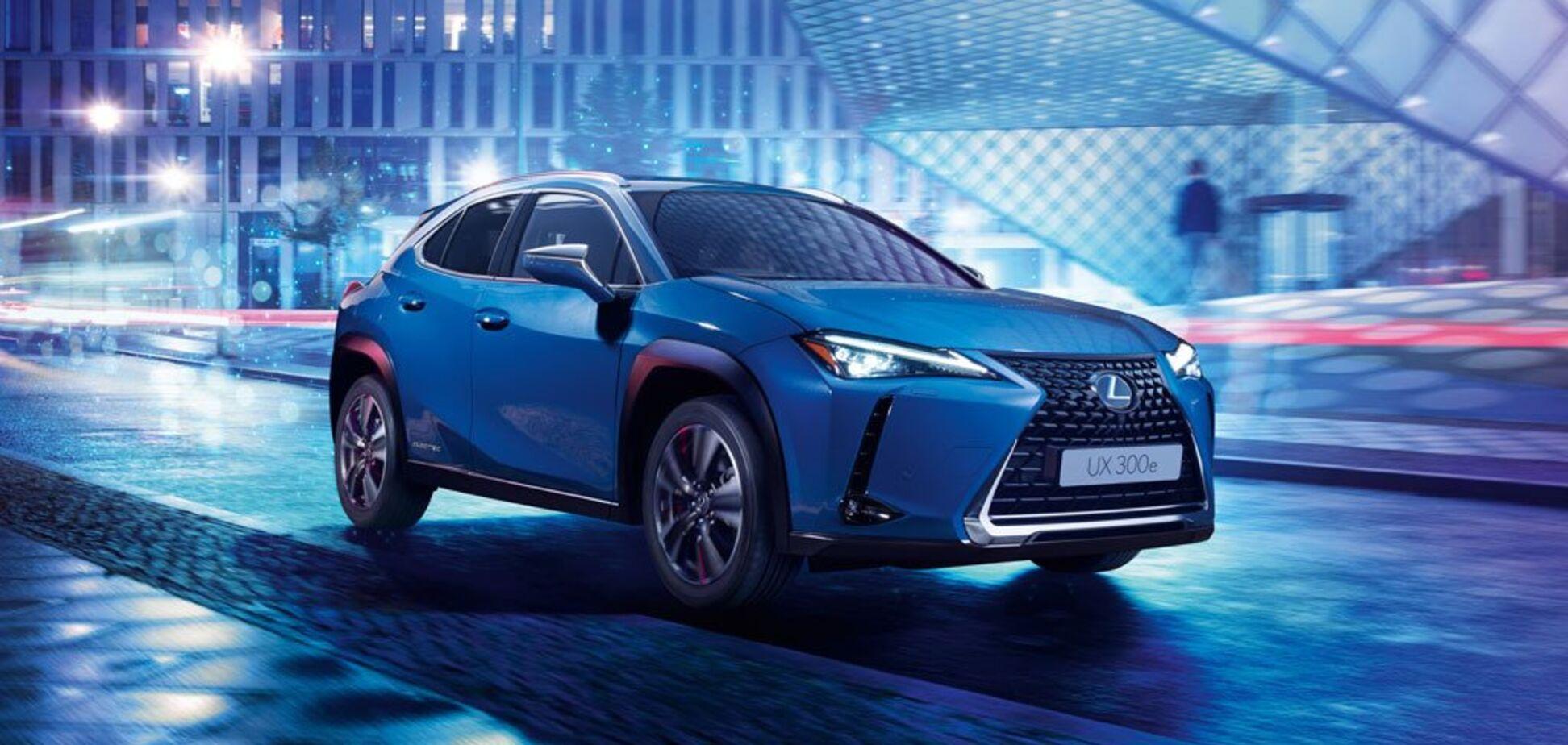 Первый электромобиль Lexus появится в Европе