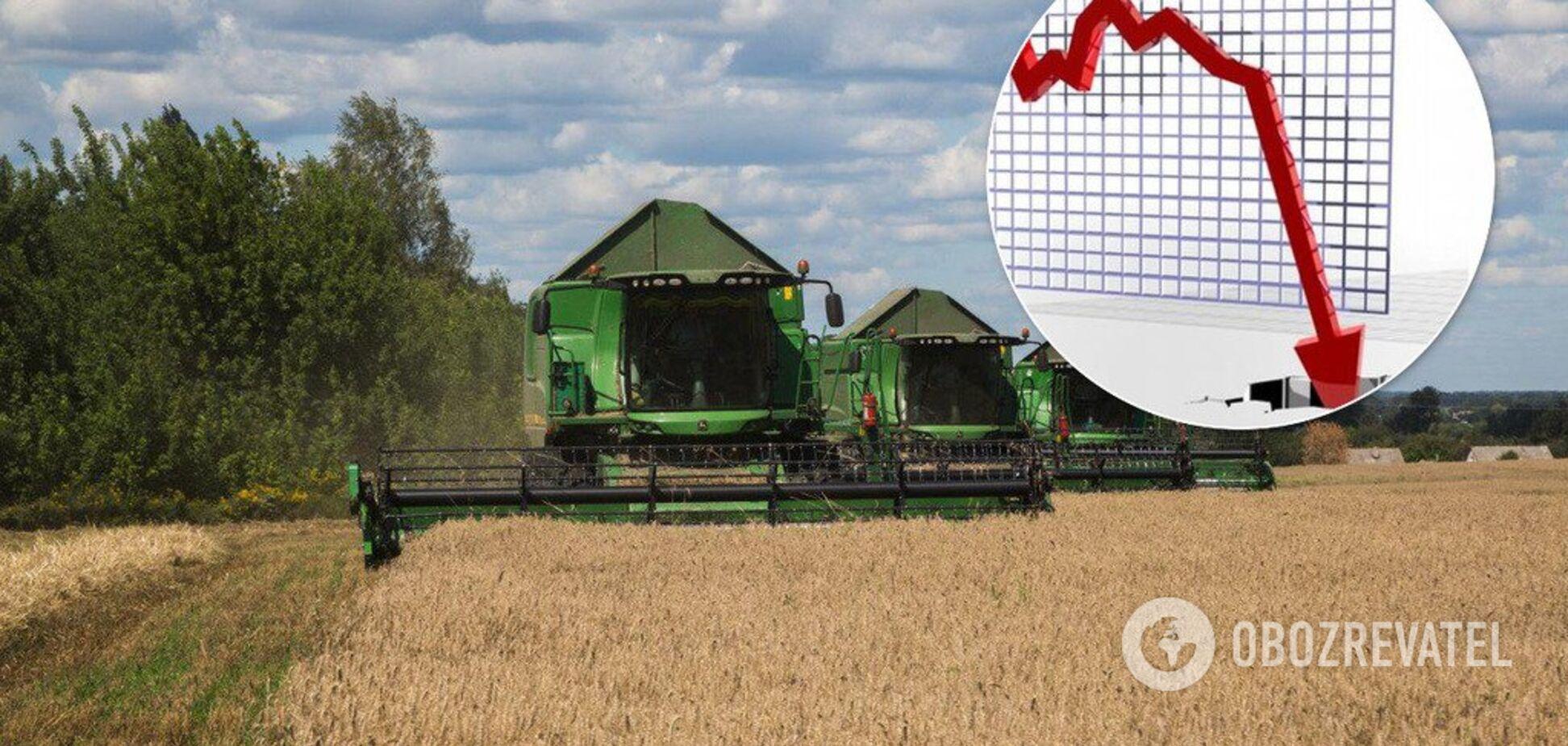 Сельское хозяйство Украины рекордно обвалилось: экономист объяснил причину