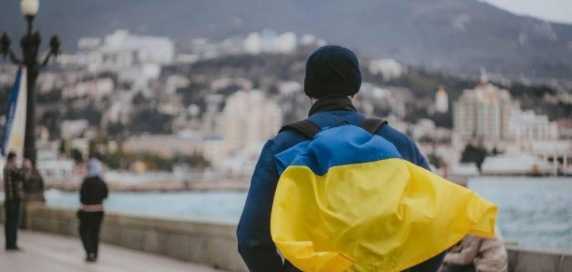Офіційна позиція? Окупанти визнали Крим українським: фотофакт