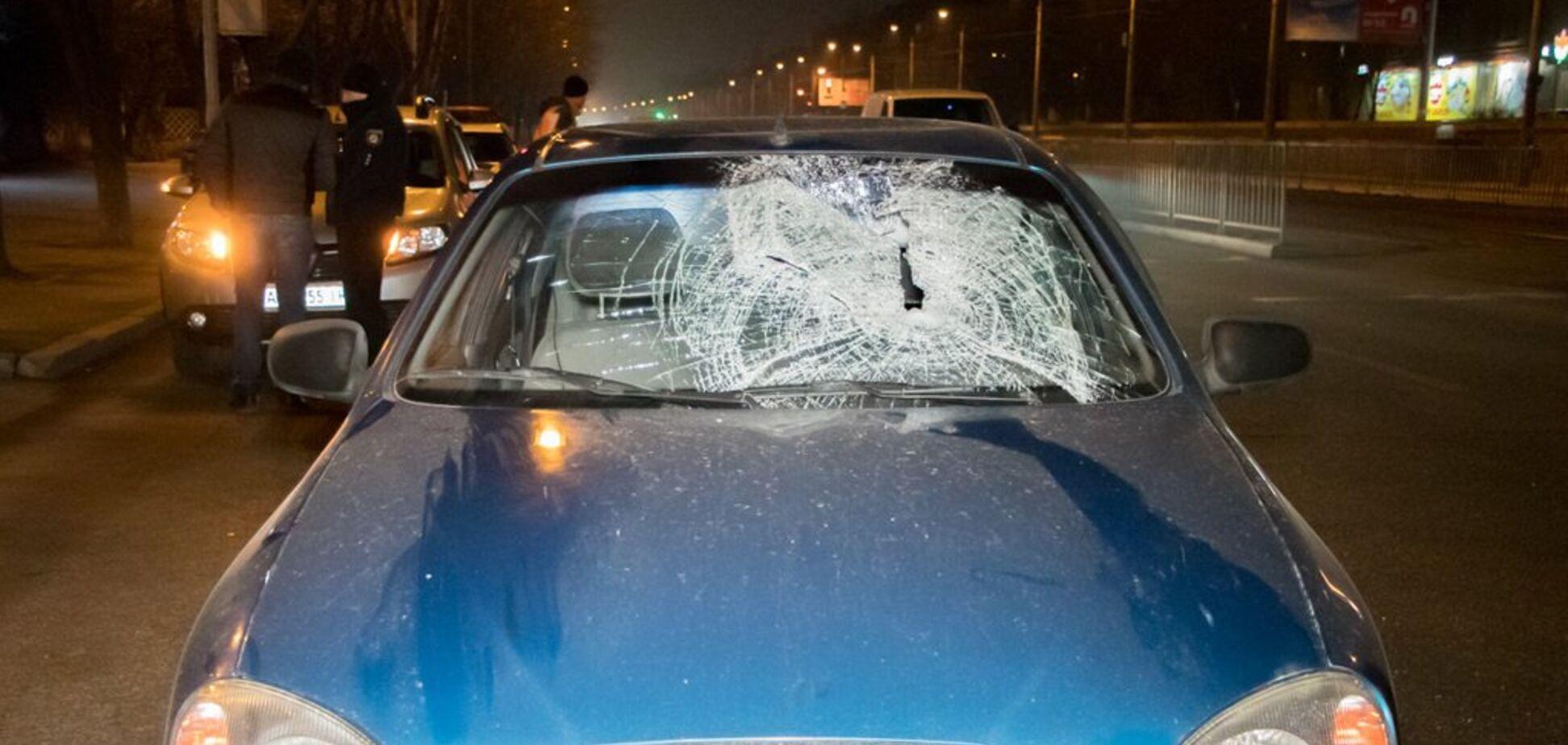 Переходил на 'красный': в Днепре водитель Daewoo сбил пешехода. Фото