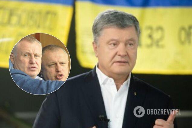 """Порошенко заявил, что не заключал никакого соглашения с братьями Суркисами по """"1+1"""""""