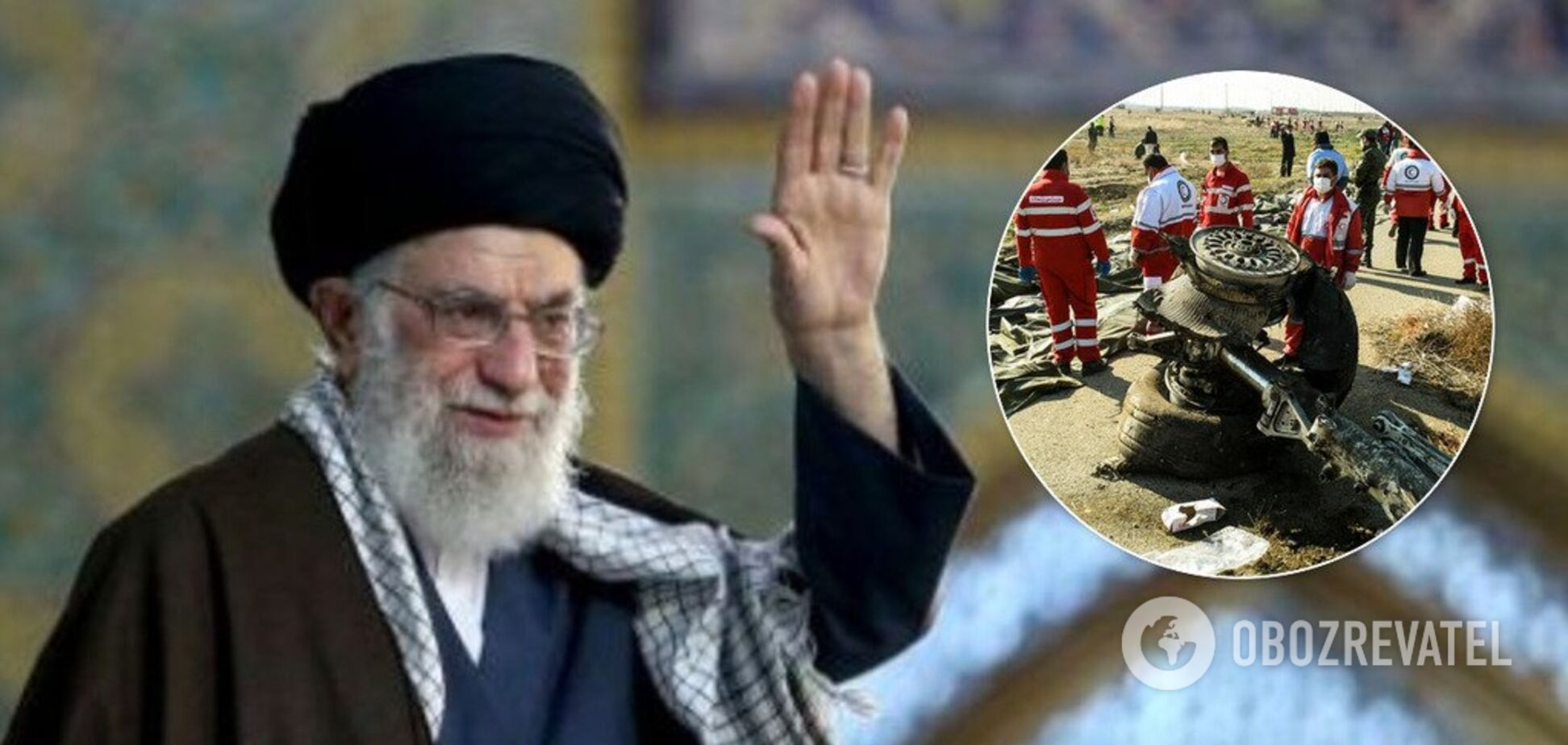 'Есть неясные моменты!' Духовный лидер Ирана выдал новое заявление о катастрофе самолета МАУ