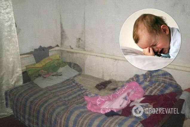 У Дніпрі поліцейські врятували немовля від горе-батьків